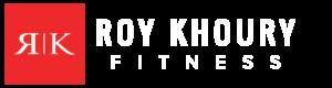 Roy Khoury Fitness header logo