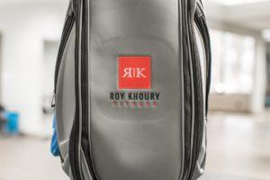 Roy Khoury Golf bag