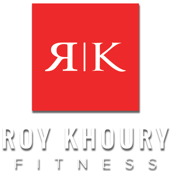 Roy Khoury main logo with drop shadow